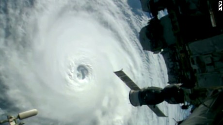 NASA's stunning footage of three hurricanes