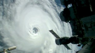 NASA grabs stunning footage of three hurricanes