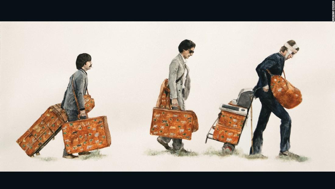 "From left, Jack (Jason Schwartzman), Peter (Adrien Brody) and Francis (Owen Wilson) in ""The Darjeeling Limited."""