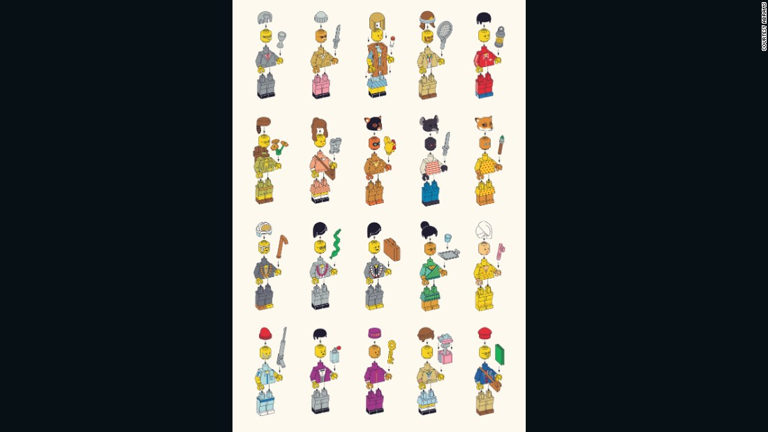 Characters from various Wes Anderson films.