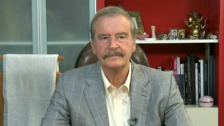 Vicente Fox: Trump is absolutely crazy