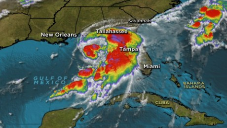 Tropical Storm Hermine takes aim at Florida, expected to turn into ...