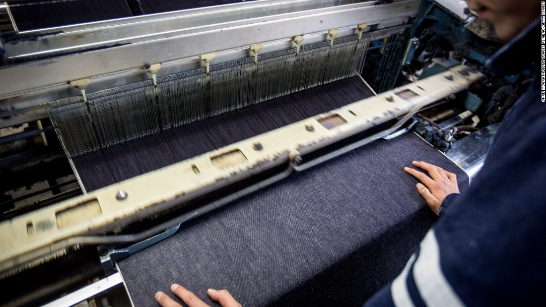 "Denim in Japan is often made on old and dated machinery to create an authentic vintage feel. <br /><br />""Denim makers brought back old fabric machines which were being phased out due to technology developments over the years,"" says Devin Leisher, the director of the denim documentary ""Weaving Shibusa."""