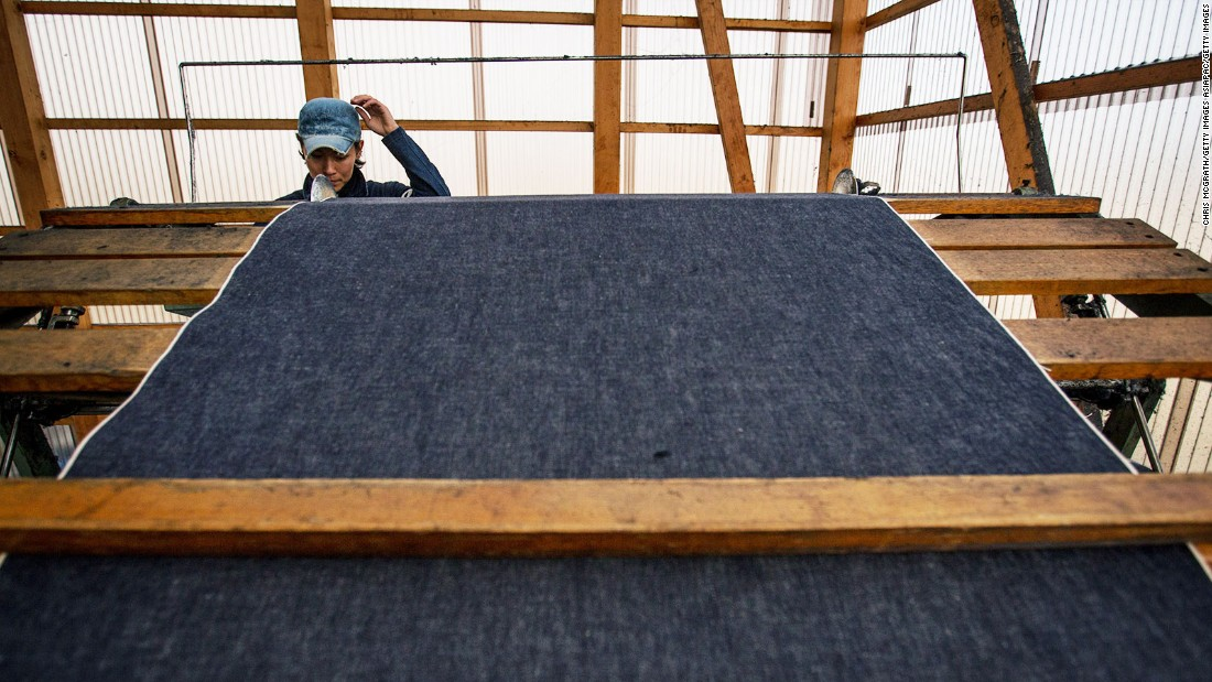 Japanese denim brand Momotaro is widely regarded for its attention to detail. Momotaro's premium jeans (which uses a denim made on a wooden hand-loom) can sell for $2,000.