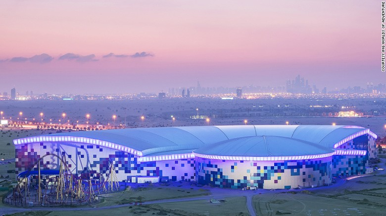 IMG Worlds of Adventure is the world's largest indoor theme park. It opened in Dubai in August 2016.