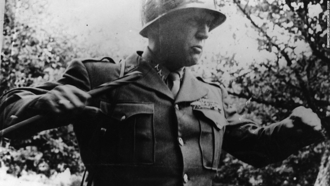 """It proved a race against time --  American troops rescuing hundreds of thoroughbred horses from the Nazis and ensuring they weren't eaten by advancing Russian troops.  American General George Patton, nicknamed """"Old Blood and Guts"""", gave the all clear for the secret operation to get under way in the final days of the Second World War."""