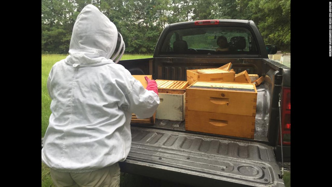 """""""I don't know the long term effect on my hives, the honey, the equipment,"""" said Stanley. """"I don't know if it's contaminated or not."""""""