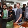 Zuckerberg entrepenuers Nairobi