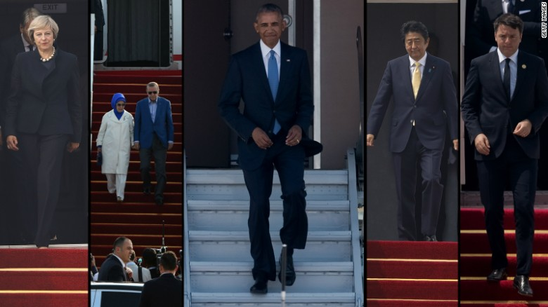 Image result for obama red carpet g-20 summit china