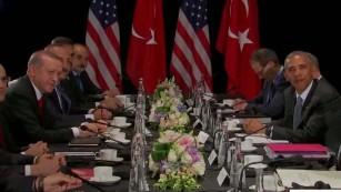 Obama meets Erdogan, promises cooperation