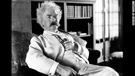 """Northerner Mark Twain was known for his white suits, and probably didn't care at all about the """"White after Labor Day"""" rule."""