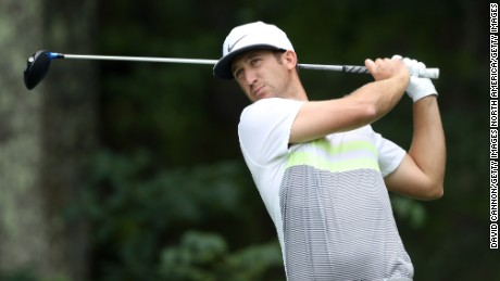 Kevin Chappell is challenging for the big money prize at TPC Boston.
