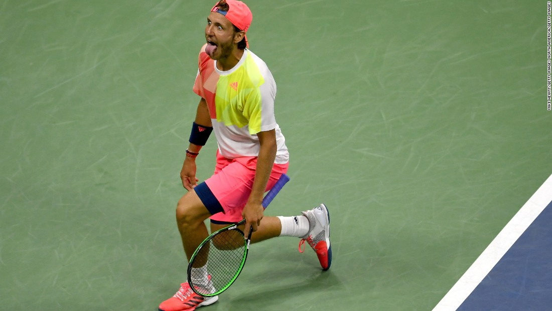 The roller-coaster ride continued: Despite the momentum, Nadal fell to Lucas Pouille in the fourth round of the US Open. Just like against Verdasco, he led by a break in the fifth.
