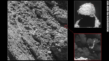Philae has been found