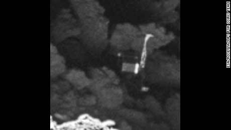 Scientists describe the pictures as definitive: There's no doubt the object is Philae.
