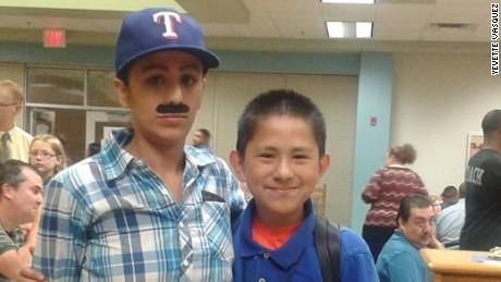 Yevette Vasquez and her son Elijah