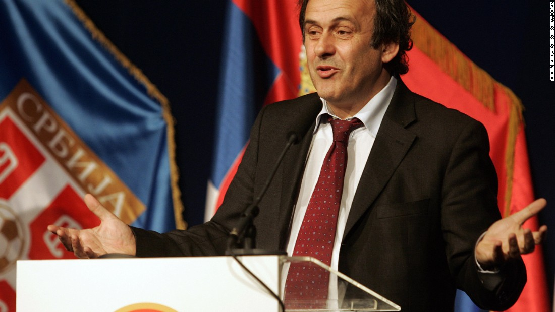 In 2009, UEFA president Michel Platini announced Kosovo could not become a member of European football's governing body until it had been accepted as a part of the United Nations.