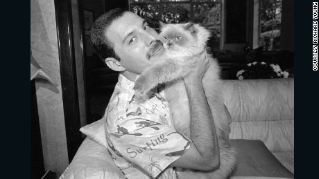Freddie and Tiffany At Home, London, 1988.jpg