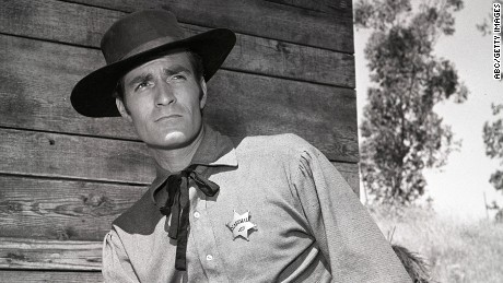 Hugh O'Brian was best known for his role as Wyatt Earp.
