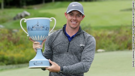 Rory McIlroy won the Deutsche Bank Championship for the second time, following up his 2012 success.