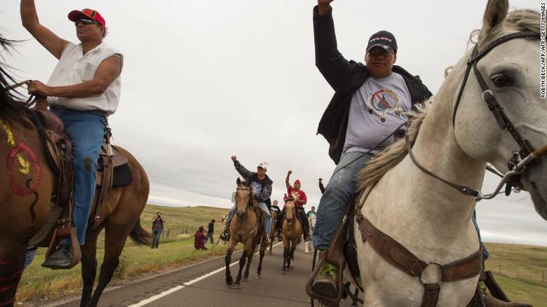 Oil pipeline in North Dakota in limbo