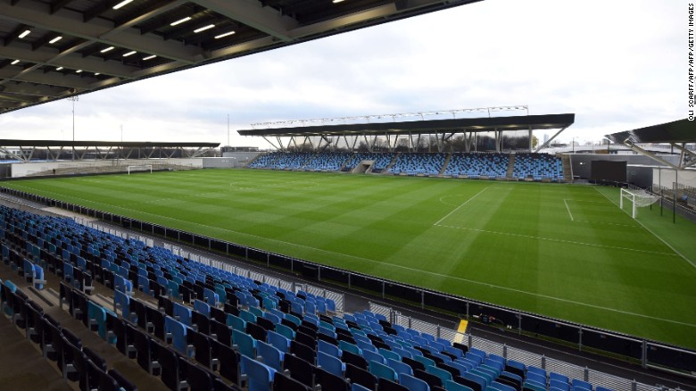"The Academy Stadium is predominantly used by the Elite Development squad and Manchester City Women. ""I like to think of us as pioneers ... not just in England, but globally,"" says Man City and England Ladies midfielder Izzy Christiansen."