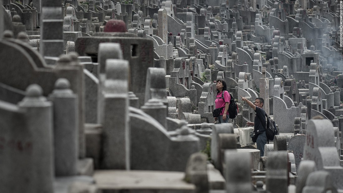 In 50 years' time, the number of deaths per year will have almost doubled in the city, according to the Hong Kong Census and Statistics Department.