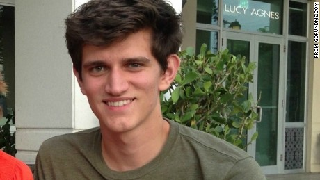 Connor Golden, 18, was injured in a freak explosion in Central Park.