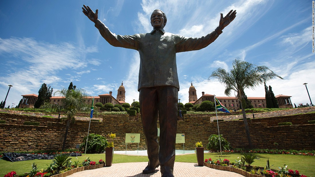 Pretoria, South Africa's administrative capital, is a showcase of the country's tumultuous history. Since 2013, a giant sculpture of Nelson Mandela has dominated the main stairway in front of the Union Buildings.