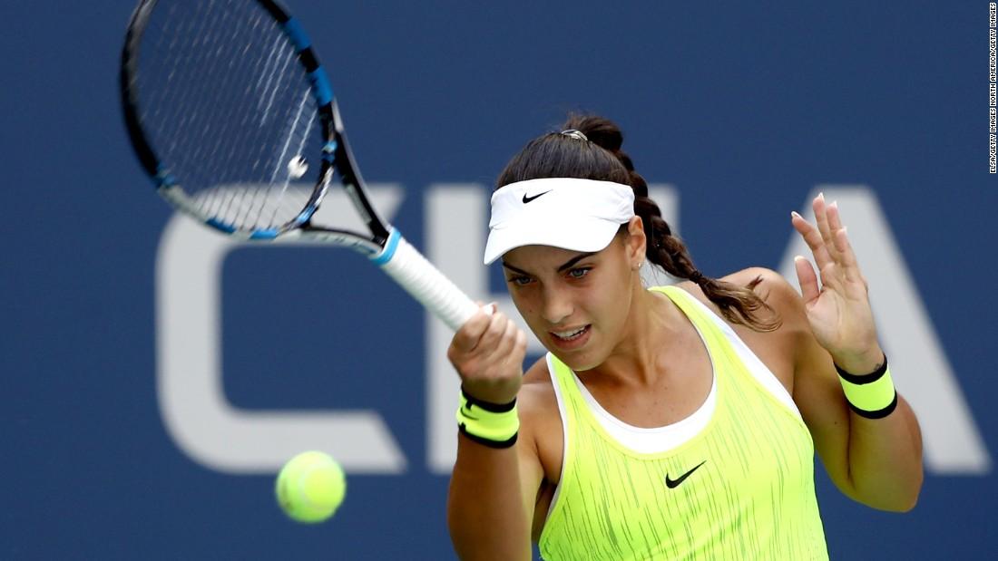 Konjuh had upset Agnieszka Radwanska a round earlier.