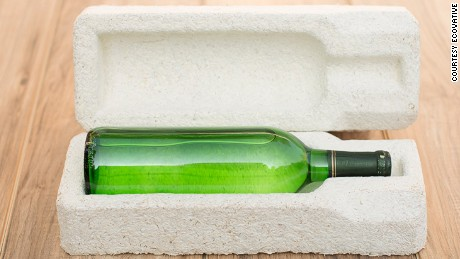 A compostable alternative to plastic packaging