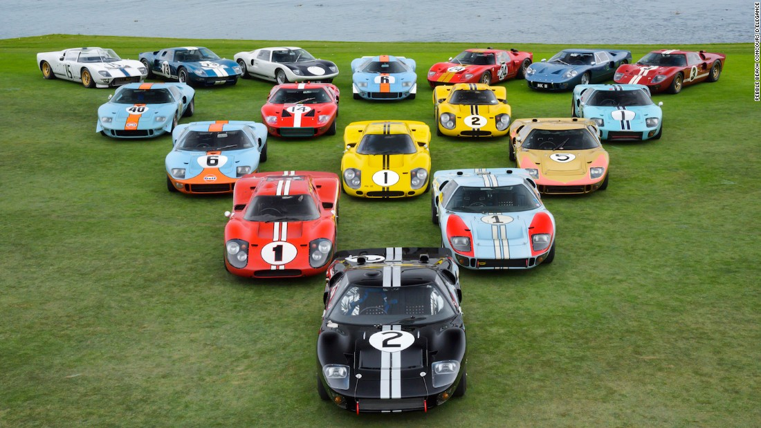 The design of the GT40, considered one of the most beautiful sports racers ever made, has been revived for the new Ford GT supercar, which is already on track to repeat the original's success at Le Mans as well.