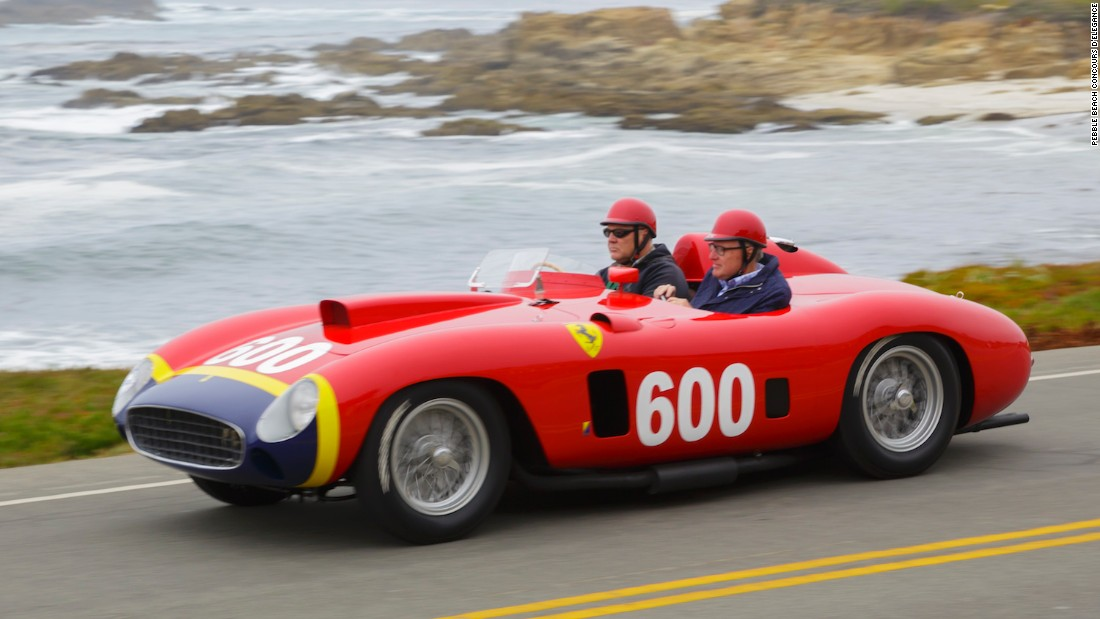Also on the Ferrari front was this 1956 290 MM Scaglietti Spider from the collection of Les Wexner, billionaire owner of Victoria's Secret.