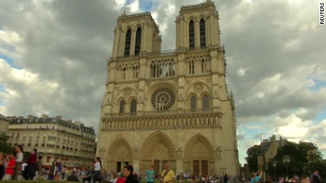 Did terrorists plan to attack the Notre Dame cathedral?