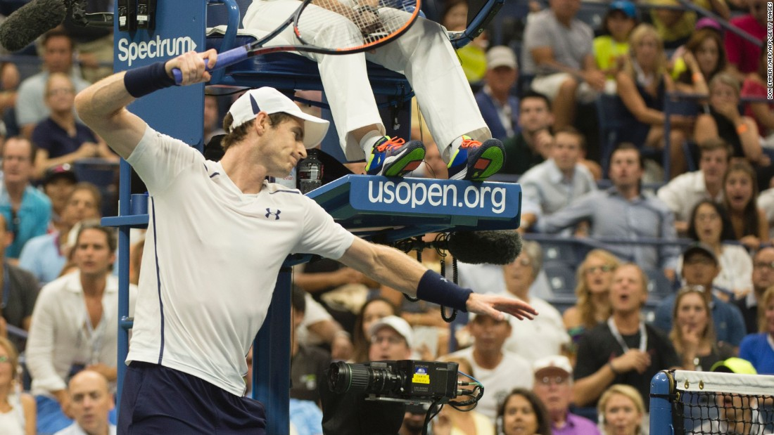 He won the fourth after a sound that went off in the stadium affected Murray and earned the key break of the fifth at 5-5.
