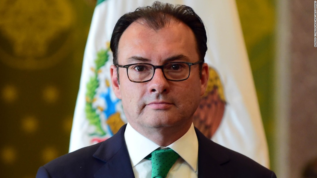 Mexican foreign minister to visit Washington