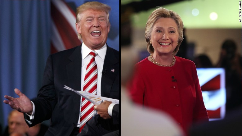 Donald Trump: Hillary, she's not a New Yorker!