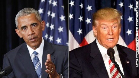 Image result for Trump campaign, but not Trump, says Obama was born in the US
