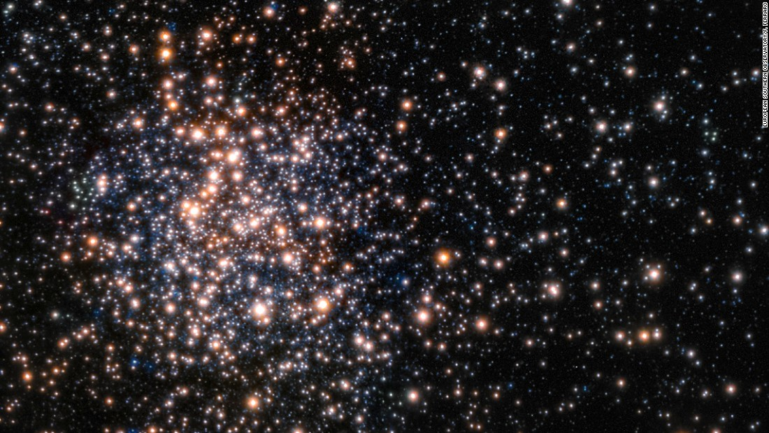 Peering through the thick dust clouds of the galactic bulge an international team of astronomers has revealed the unusual mix of stars in the stellar cluster known as Terzan 5. The new results indicate that Terzan 5 is one of the bulge's primordial building blocks, most likely the relic of the very early days of the Milky Way.