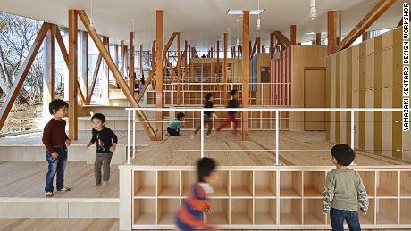 Hakusui Nuersery School, Chiba, Japan