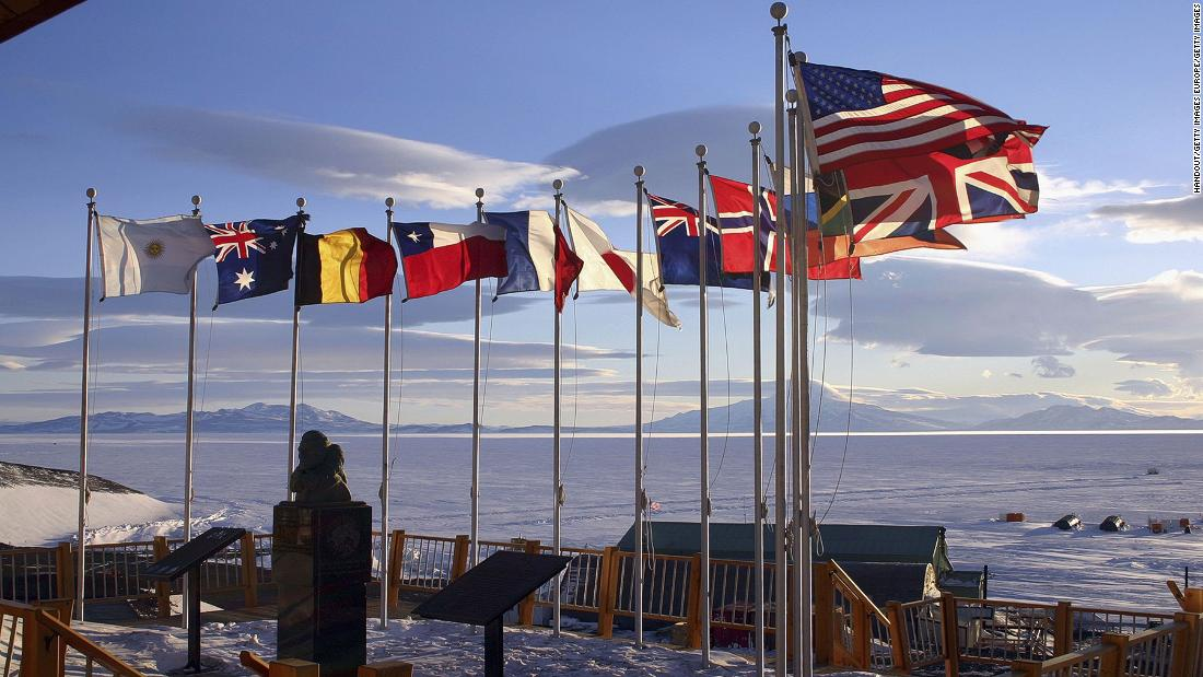 McMurdo (pictured) is one of several Antarctic bases regularly recruiting support staff, from chefs to firefighters.