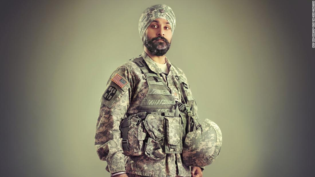 Maj. Kamaljeet Singh Kalsi was born in India but grew up in New Jersey. He was the only Sikh child in his public school and became the first Sikh American to be granted a religious accommodation to serve in the  military since a 1980s ban that prevents Sikhs from serving. Kalsi deployed to Afghanistan and now works to end religious discrimination in the military.