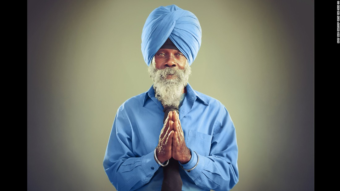 Retired engineer Lathan Dennis-Singh was born in Kingston, Jamaica, where he befriended reggae superstar Bob Marley. He converted to Sikhism 48 years ago at his college in Michigan and has been living in Fairfax, Virginia, for the last 30 years.