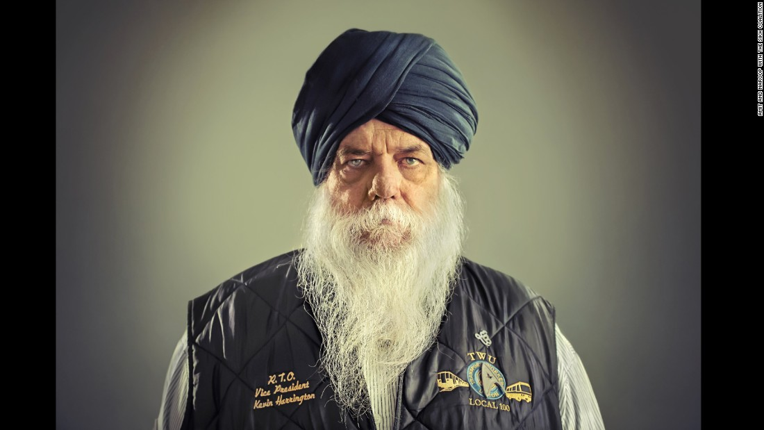 Sat Hari Singh reversed the New York train he was operating on 9/11 and helped save the lives of many people. He worked with the Sikh Coalition to sue the transportation authority over a policy against turbans and won.