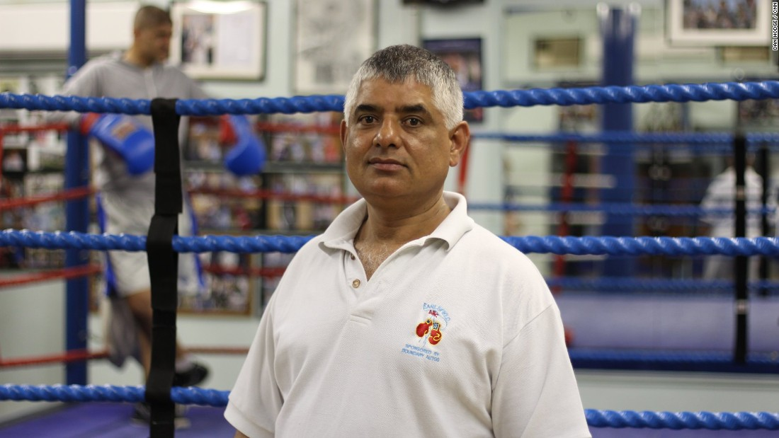 Sid Khan joined Earlsfield ABC as an 11-year-old growing up in nearby Tooting -- he is now the London boxing club's head coach.