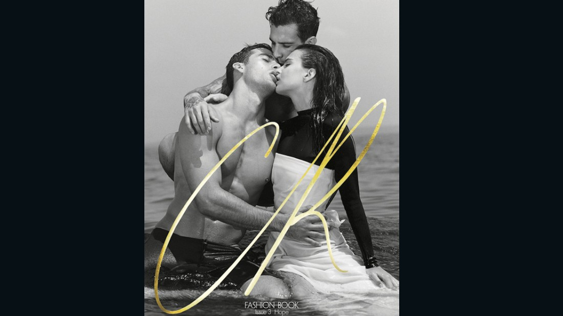 The reverse cover featured a story shot by Bruce Weber, starring model Emily Ratajkowski.