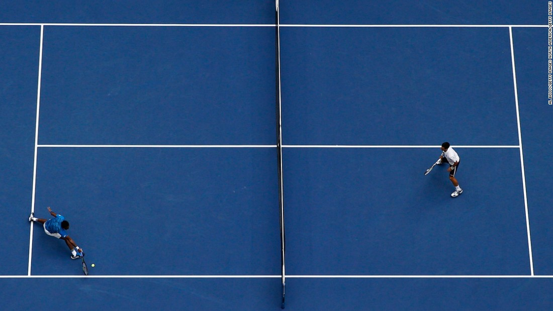 Djokovic recovered in the fourth set, when both players were particularly affected by the hot and humid conditions.