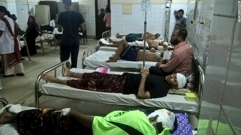 Hospitalised Victims