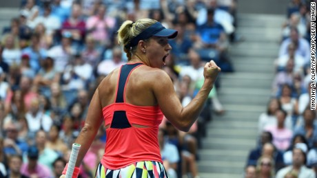 Kerber has become a fitter and more aggressive player since she re-united with her former coach, Torben Beltz.
