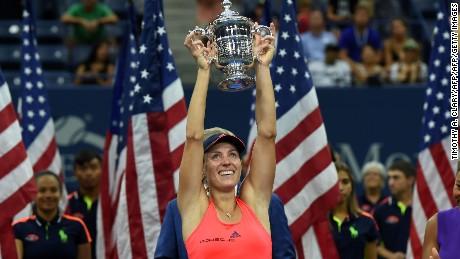 Angelique Kerber wins US Open